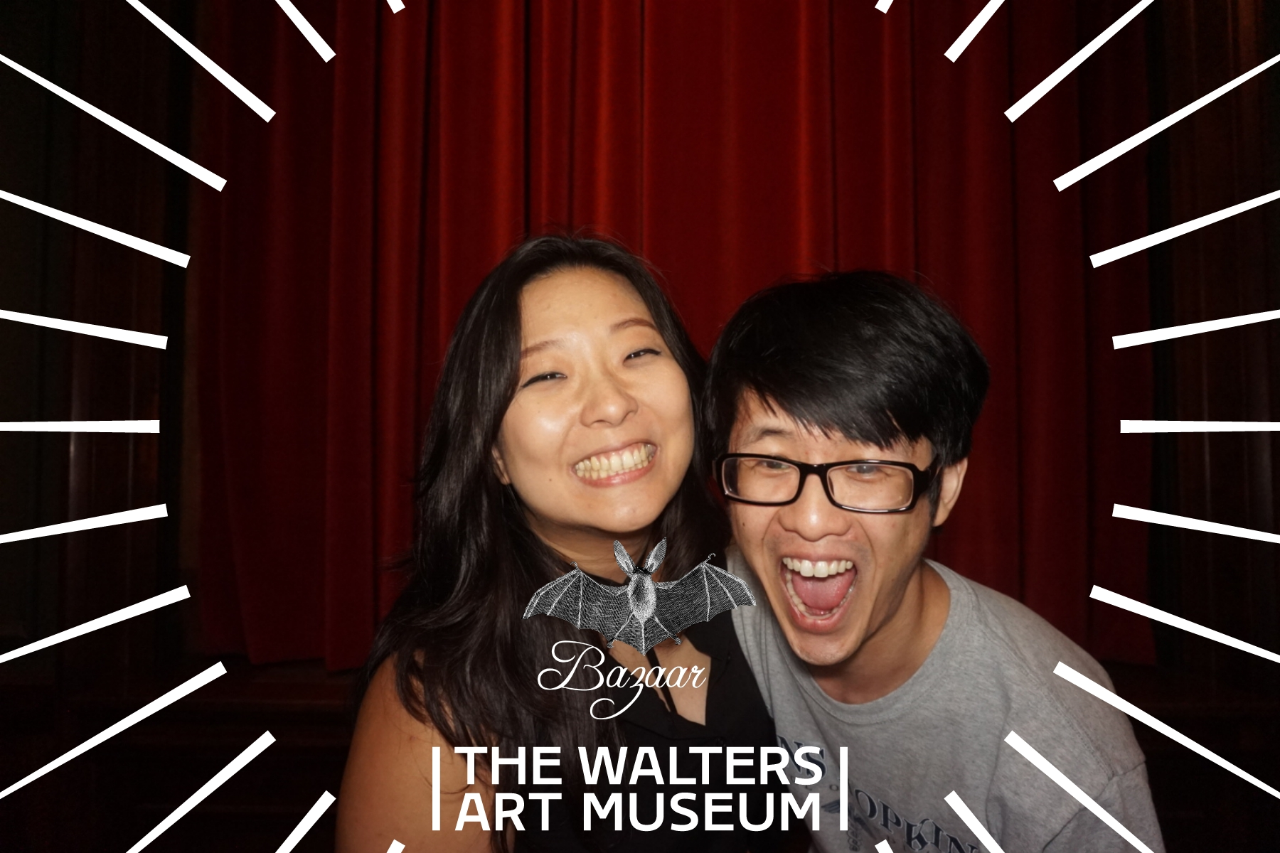 Walters Art Museum Photo Booth