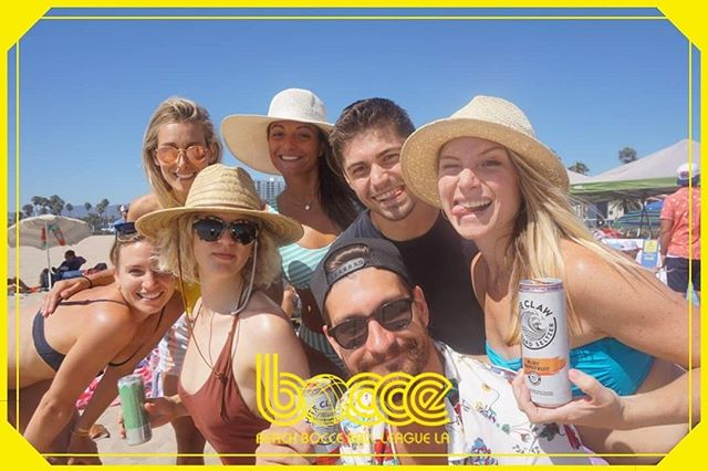 Did somebody say #Bocce? Always fun to see transmissions from the #leftcoast! Clearly a blend of Bocce & Pixilated is a winning recipe! #getpixilated #santamonica #photobooth #labocce #PixiTAB @kingandcountrytv @thewaterfrontvenice