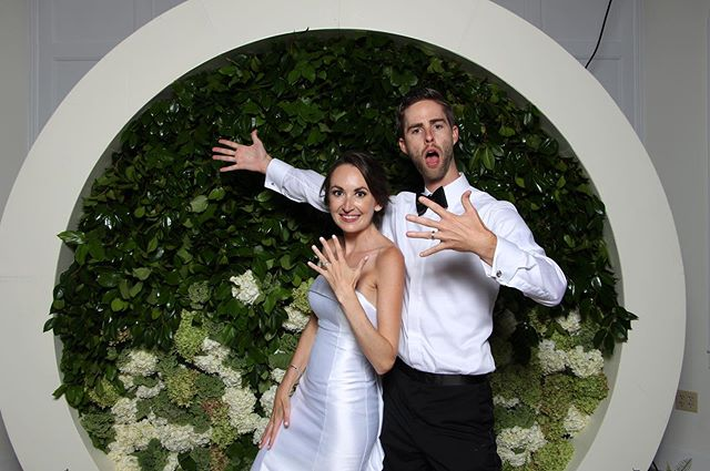 Did you have a good long weekend? Our clients definitely did!!! Congrats to our brides and grooms! #photoboothrental #photoexperience #photobooth #getpixilated #wedding #eventphotobooth #webringfun #coolbackdrops #weddingphotobooth #eventplanner