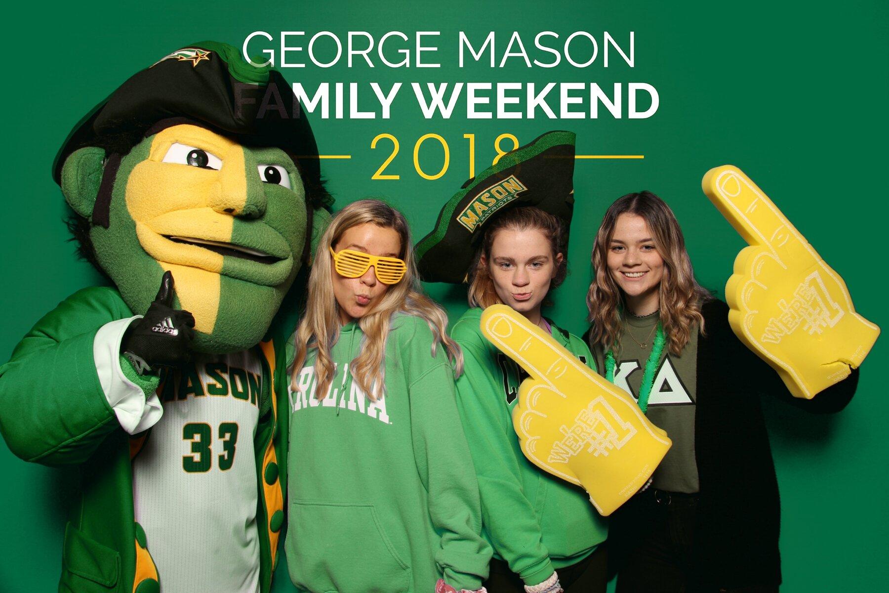 George Mason University Photo Booth