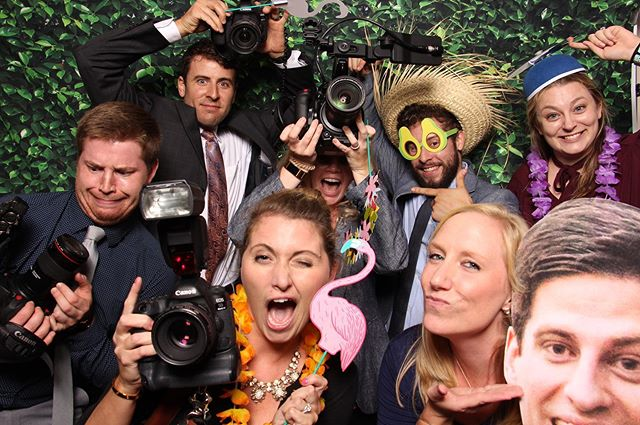When the photo crew #getpixilated at a wedding! 📸  #photoexperience #photoboothrental #pixilated #weddingphotobooth #eventplanner #webringfun