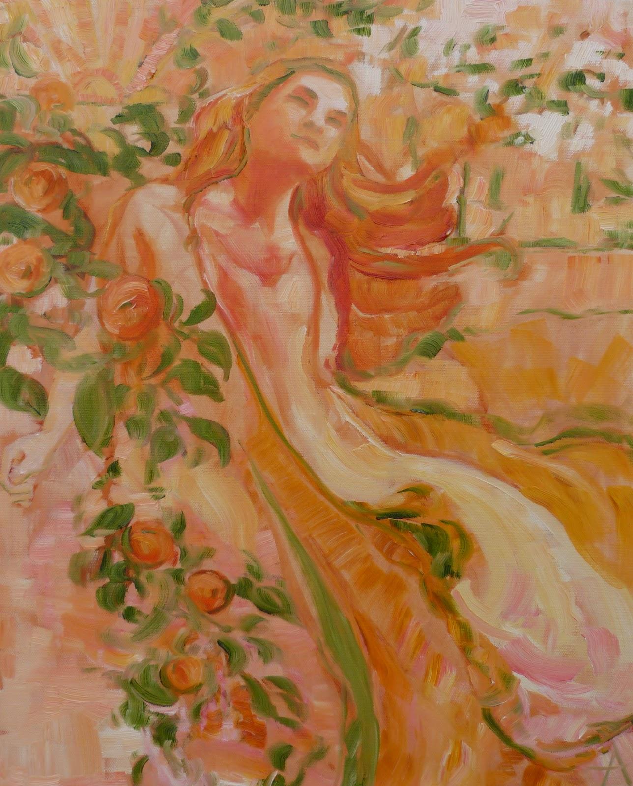 SOLD, A Single Soul, Oil on Canvas, Copyright 2015 Hirschten