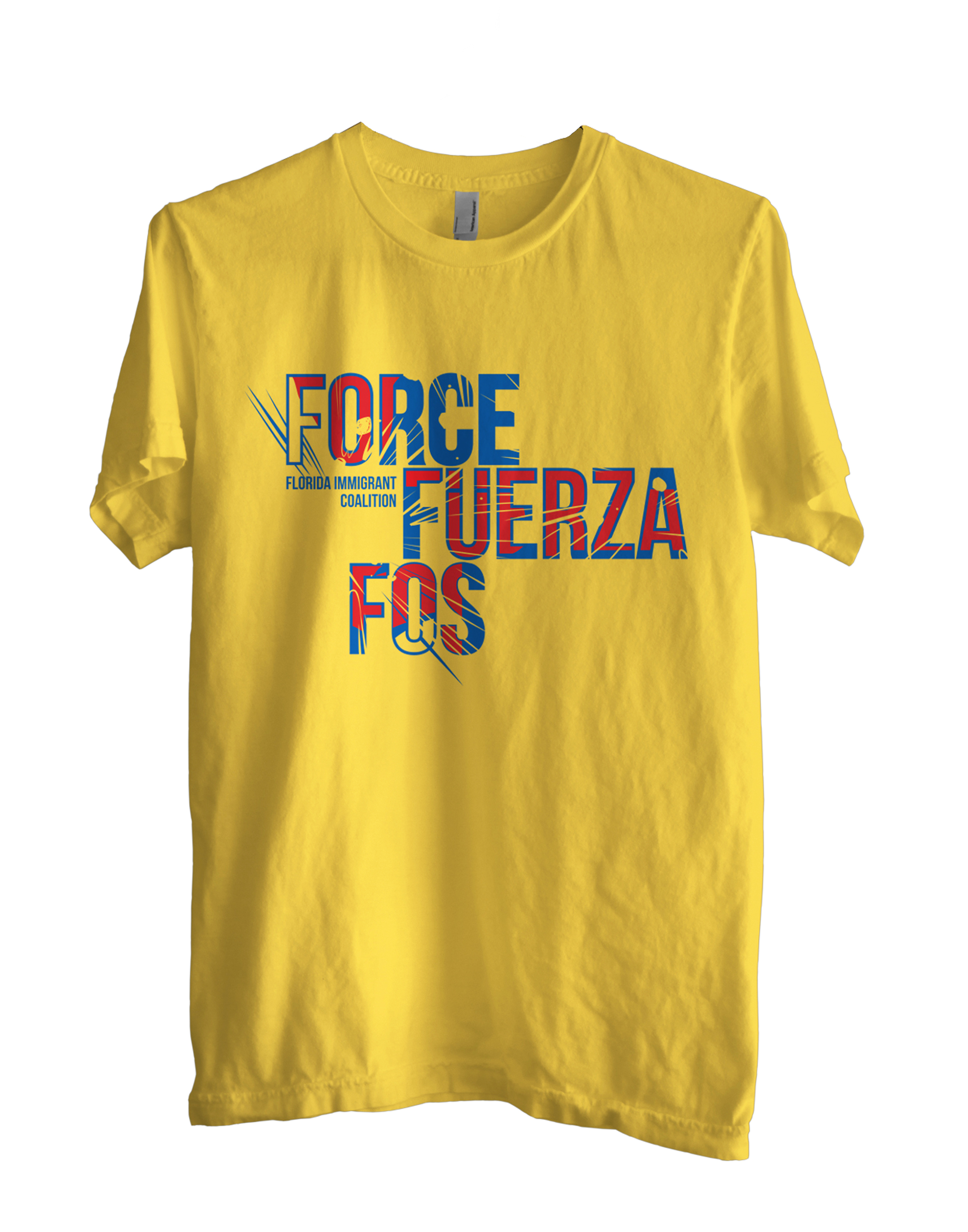 Client: Florida Immigrant Coalition  Type: Shirt