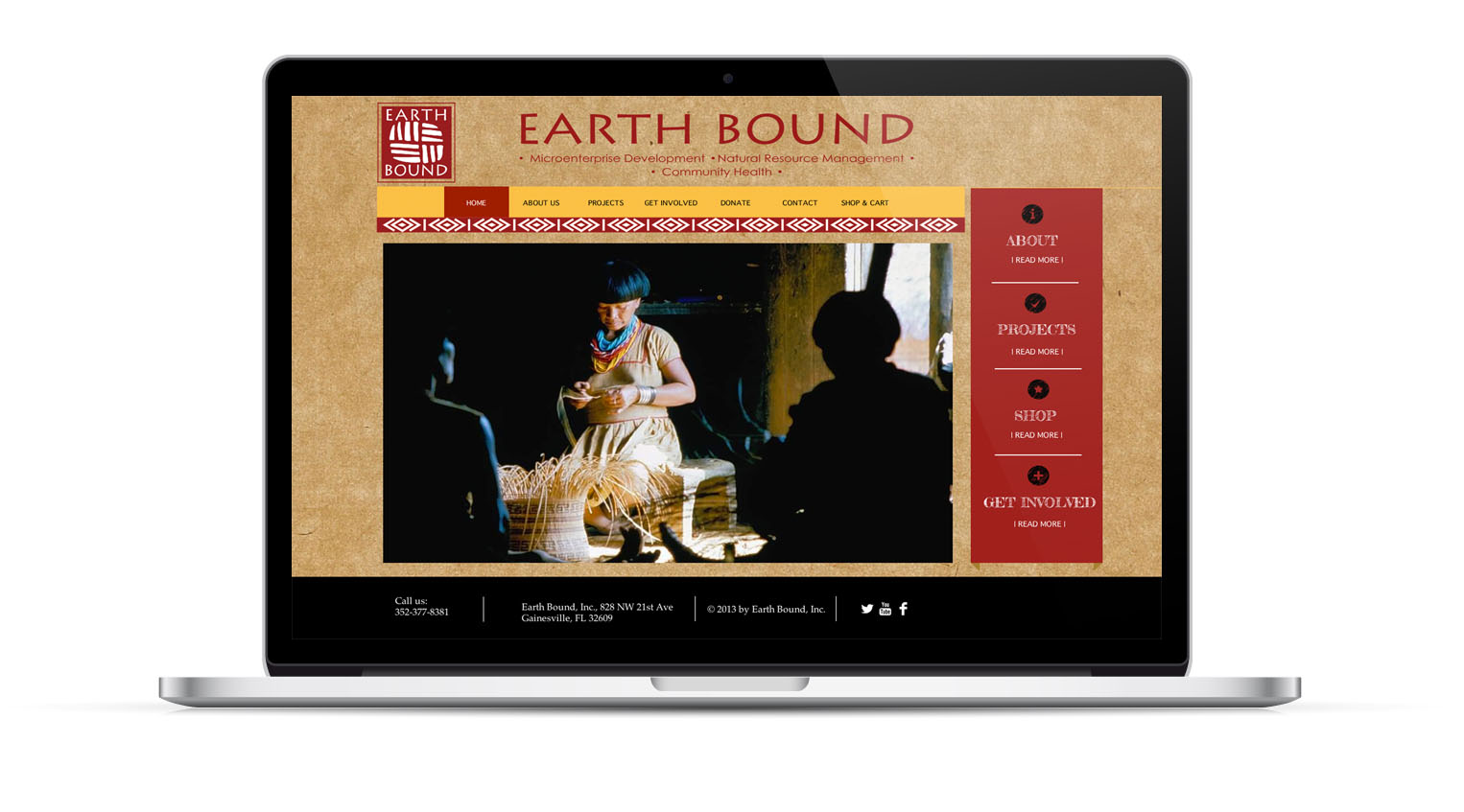 Client: EarthBound   Type: Website