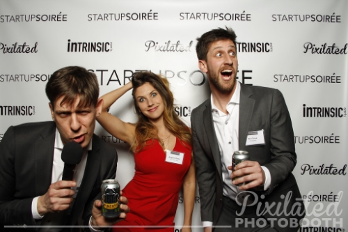 Startup Soiree Pixilated Photo Booth