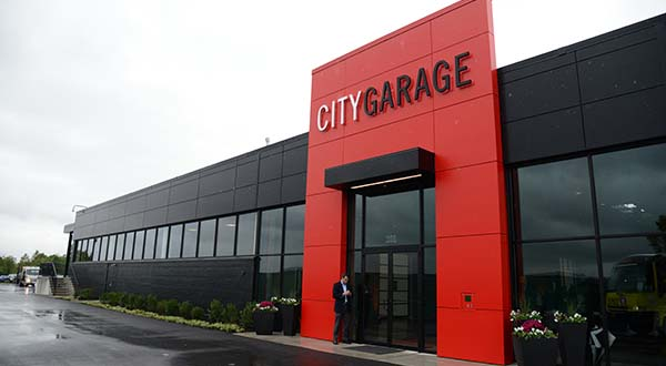City Garage. (The Daily Record / Maximilian Franz)