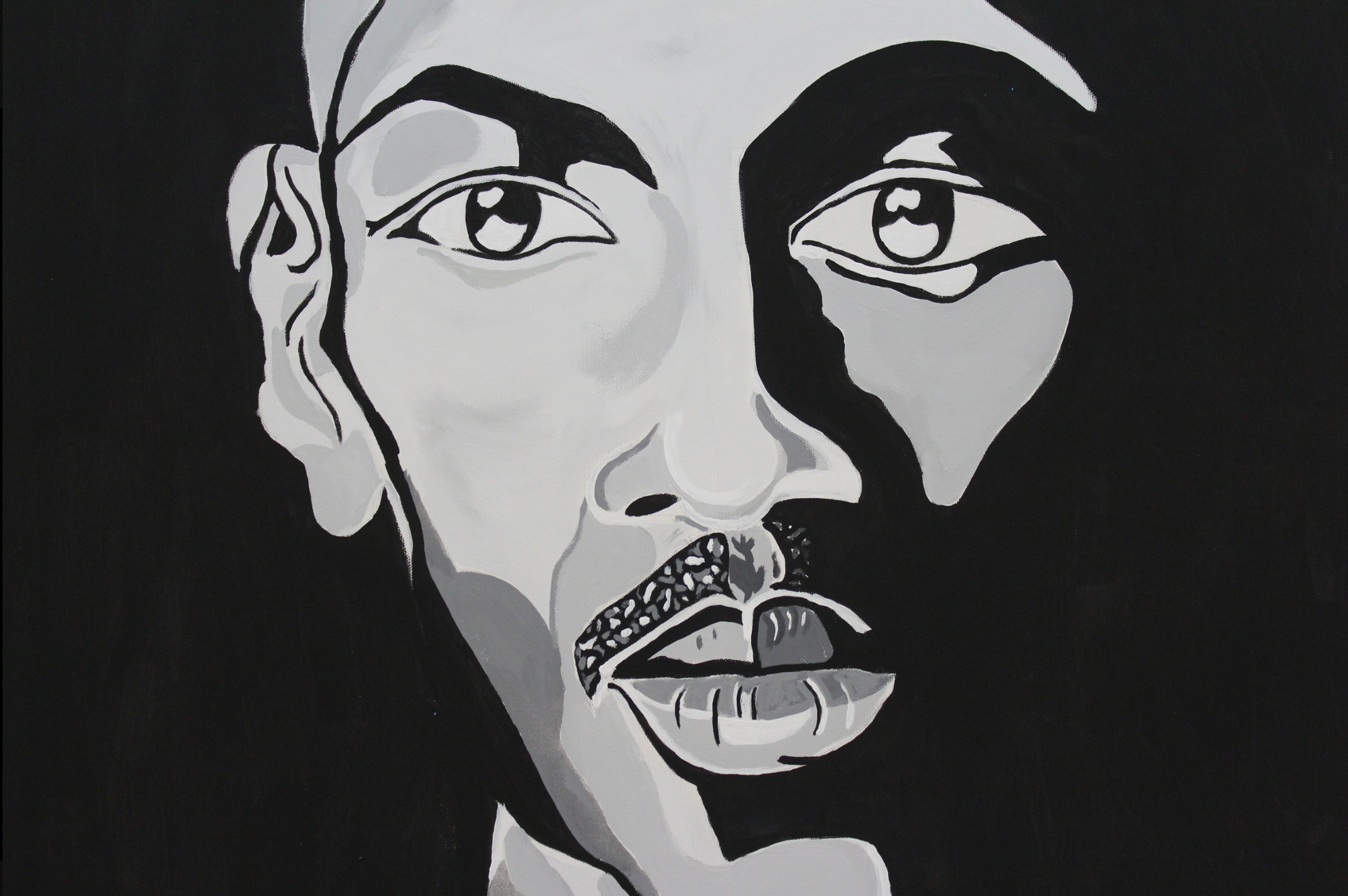 """Artwork by Jerrell Gibbs, """"Jordan"""""""