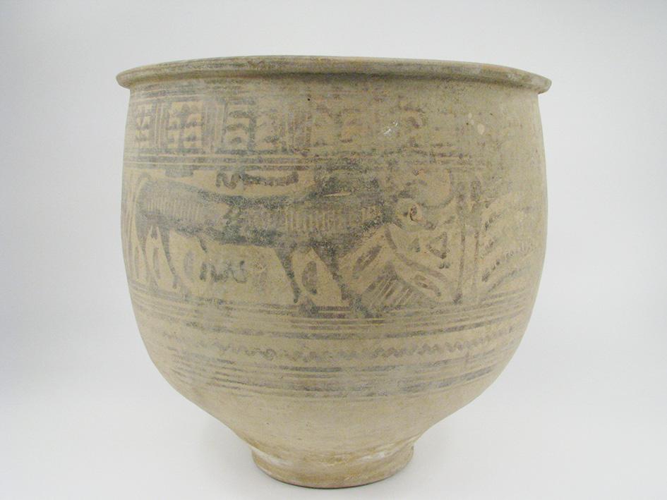 An Indus Valley Ceramic Vessel, Nindowari period, c.2300-2000BC, 30cm $5,000