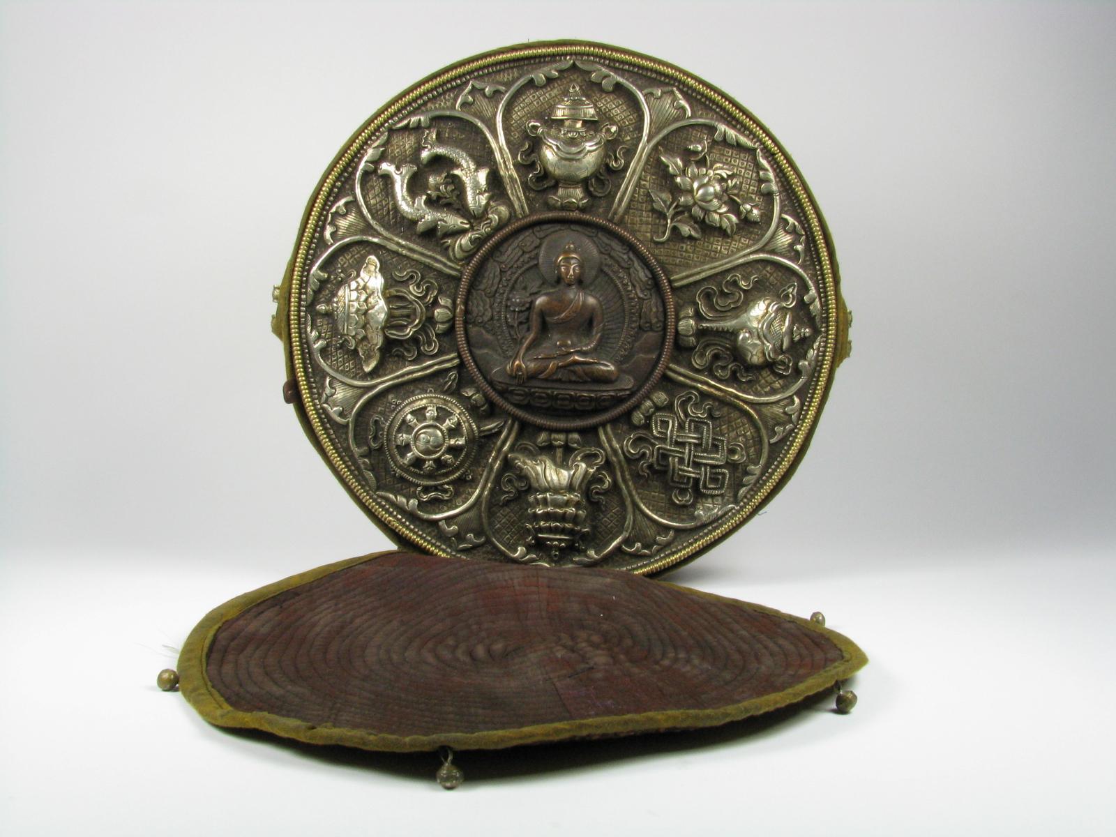 A Tibetan Gau Box, c. early 20th Century, 32x10cm $1,200