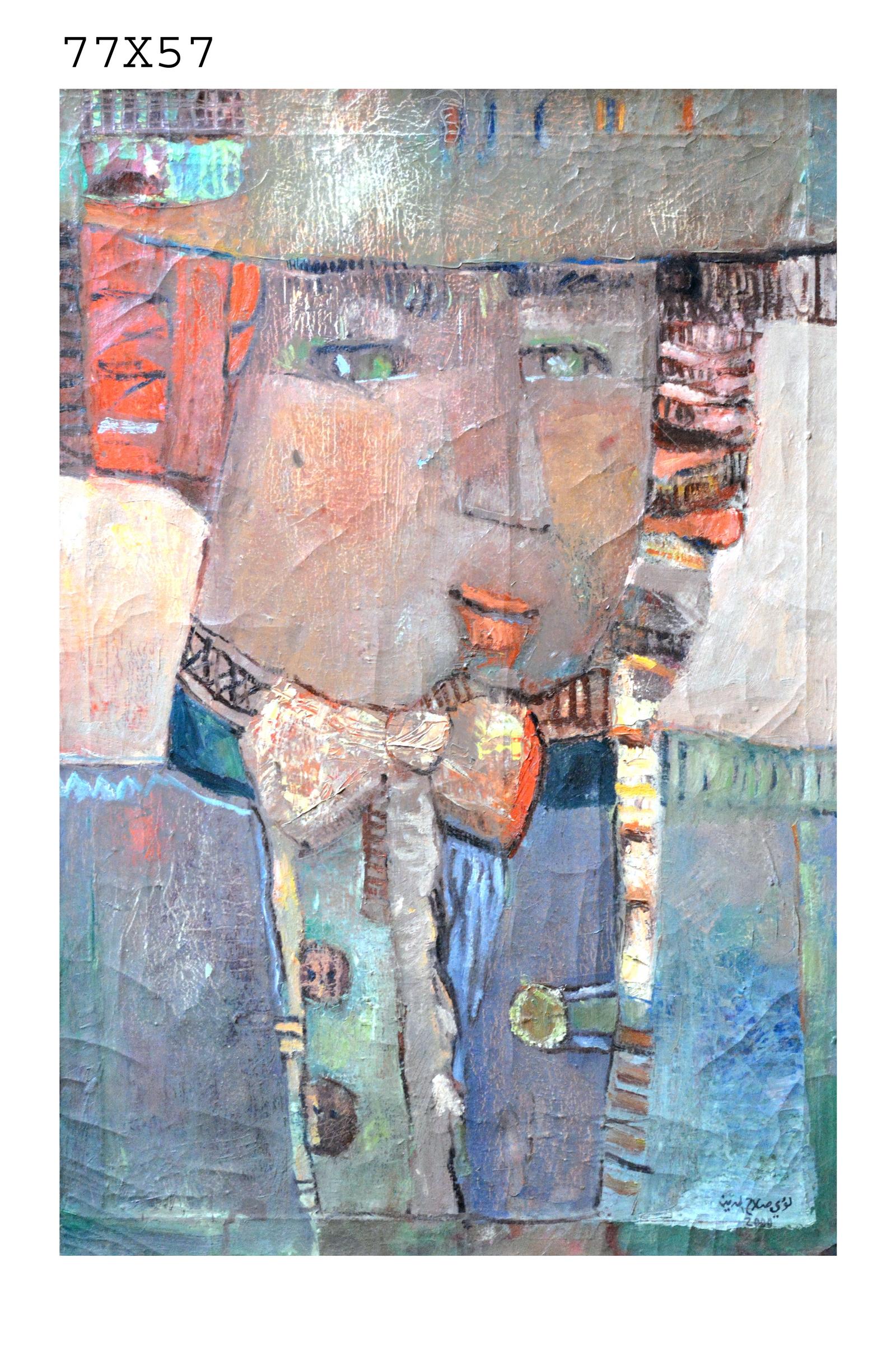 015_28 - Artist loai salahedeen 77 in 57 oil on canvas -الفنان لؤي صلاح الدين.JPG