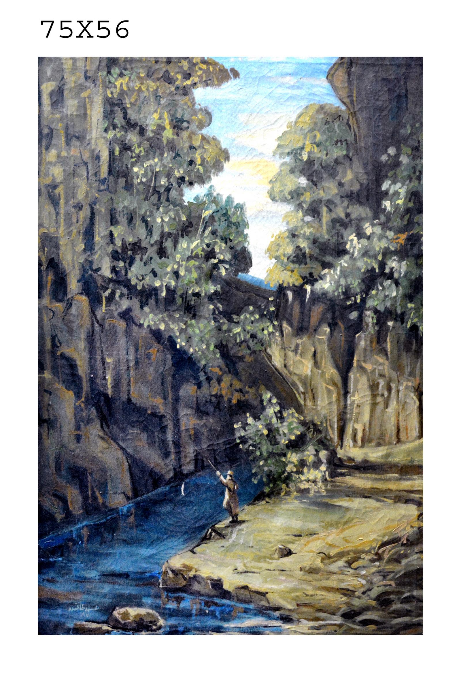 138_269 - Artist Dr. Hassan Tafesh 75 in 56 - الرسام حسن طافش.JPG