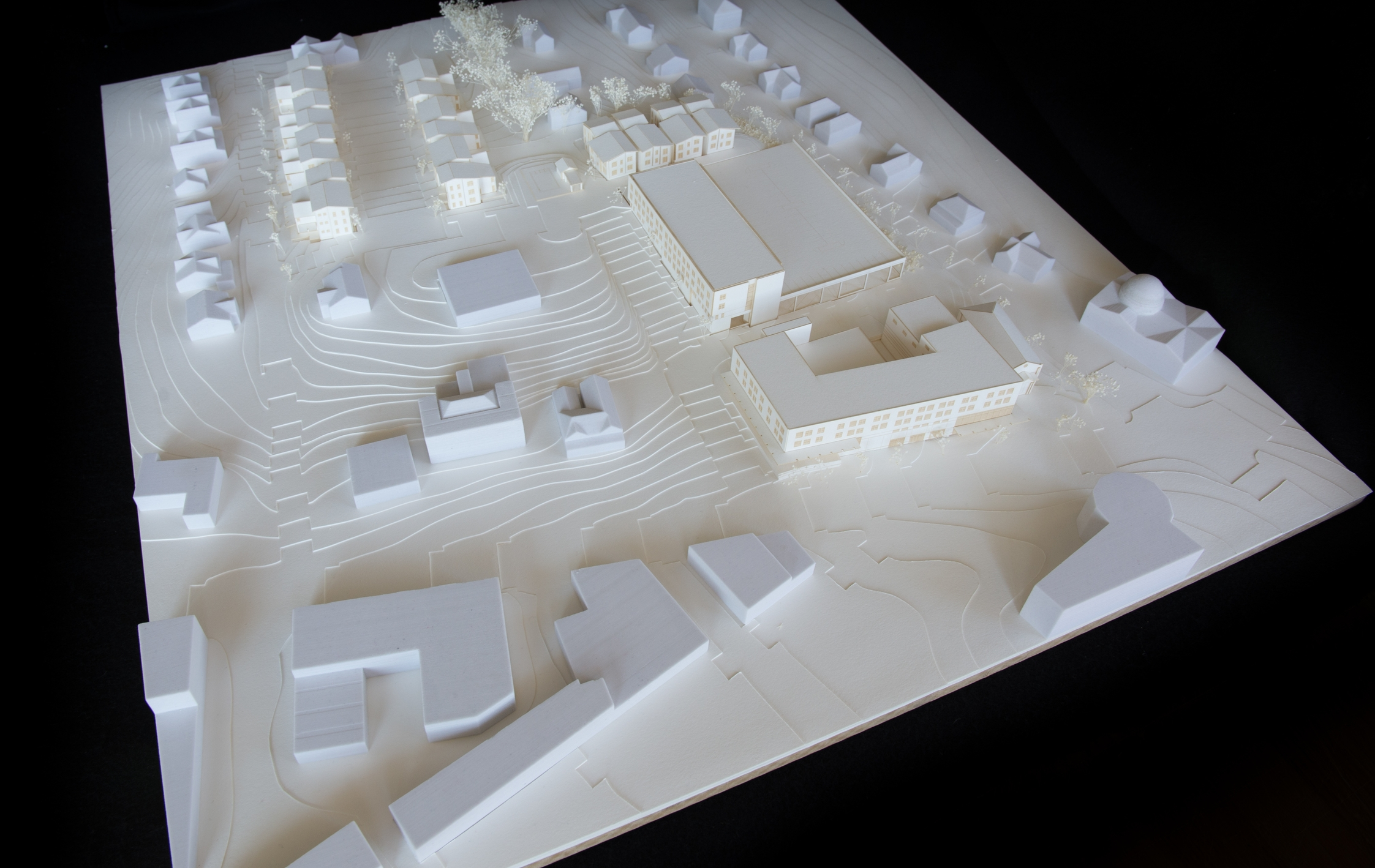 Scale Model by Macmillan Pazdan Smith Architects