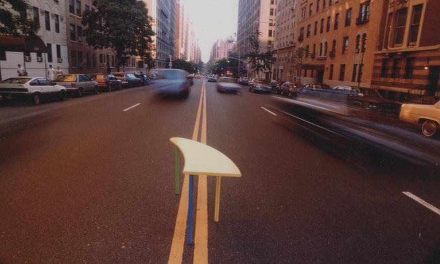 Yellow table on Street.JPG