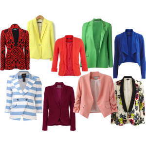 Raquel Greer Gordian discusses how to update your workwear with a colorful blazer.