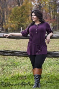 Raquel Greer Gordian interviews Elaine Wiart and learns more tips about plus size fashion.