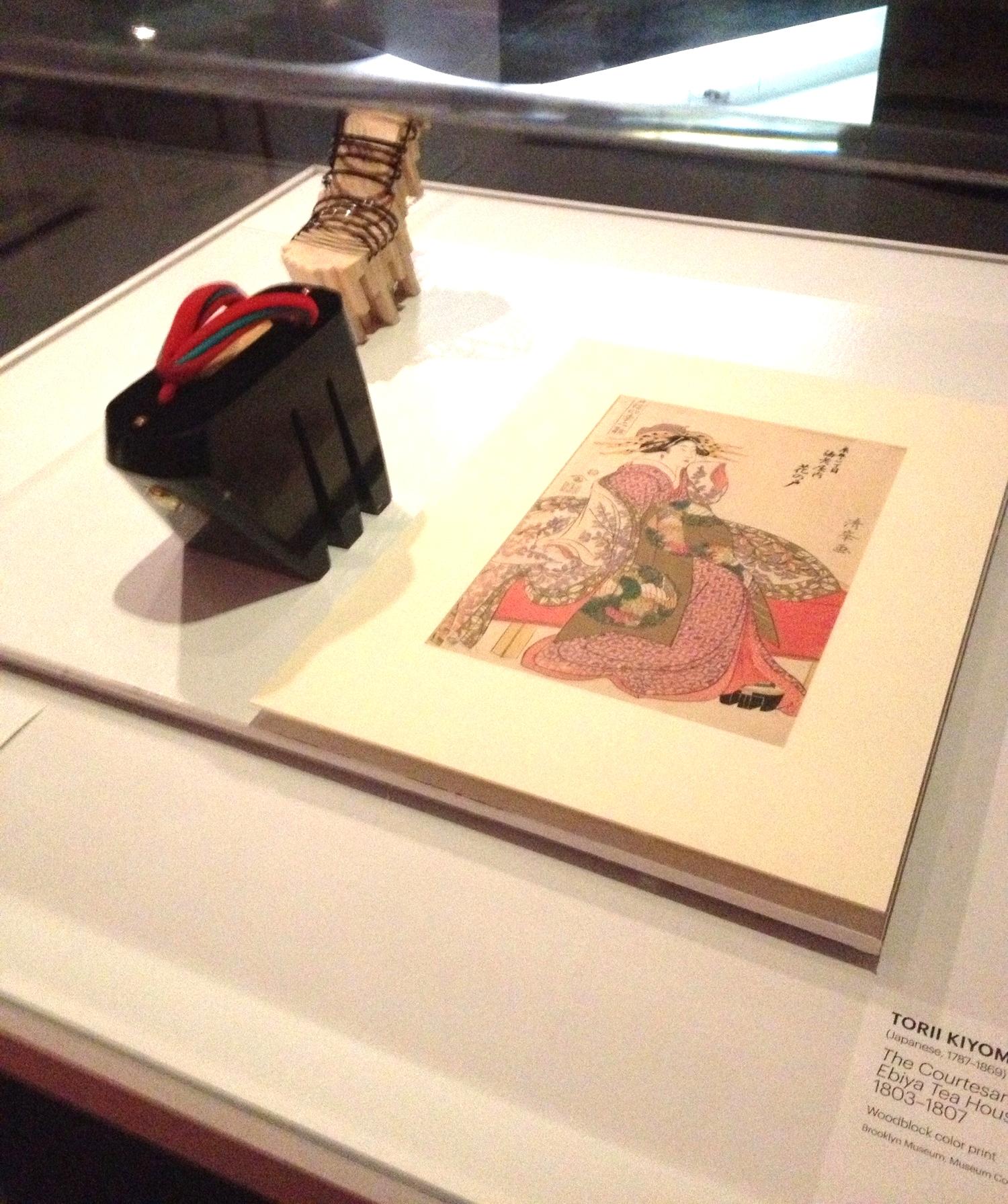 Japanese Shoe & Print, 1803-1807