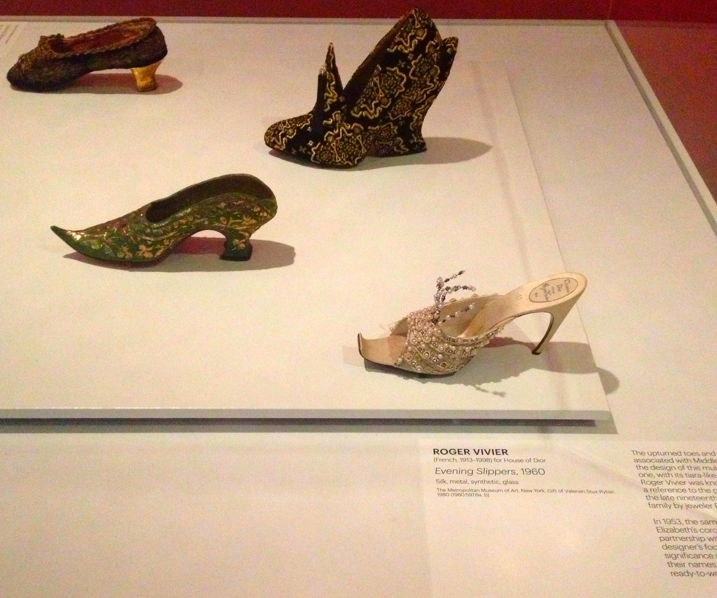 Antique Shoes & Roger Vivier, Evening Slipper, 1960
