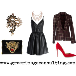 Raquel Greer Gordian discusses how incorporating classics into a holiday outfit can give it an exciting touch.