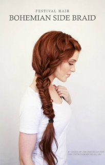 Raquel Greer Gordian discusses how a bohemian side braid can make a special NYE outfit pop.