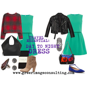 Raquel Greer Gordian discusses how a day to night dress is a vacation essential that can be worn multiple times.