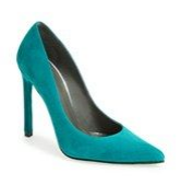 Raquel Greer Gordian discusses how a colorful pump can add some personality into a workwear outfit.