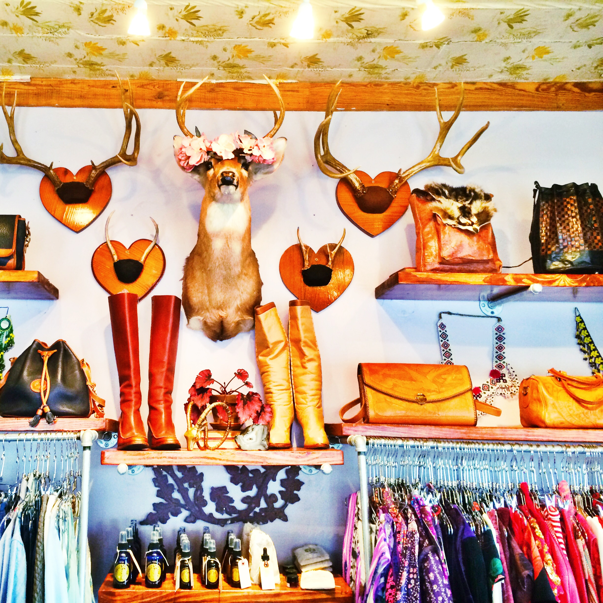 Raquel Greer Gordian discusses how Charm School Vintage is a store that offers a selection of pieces that complement a fashion-forward style.