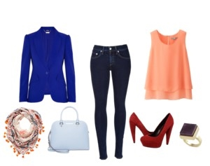 Raquel Greer Gordian displays an outfit that you can wear to work while still maintaining your style.