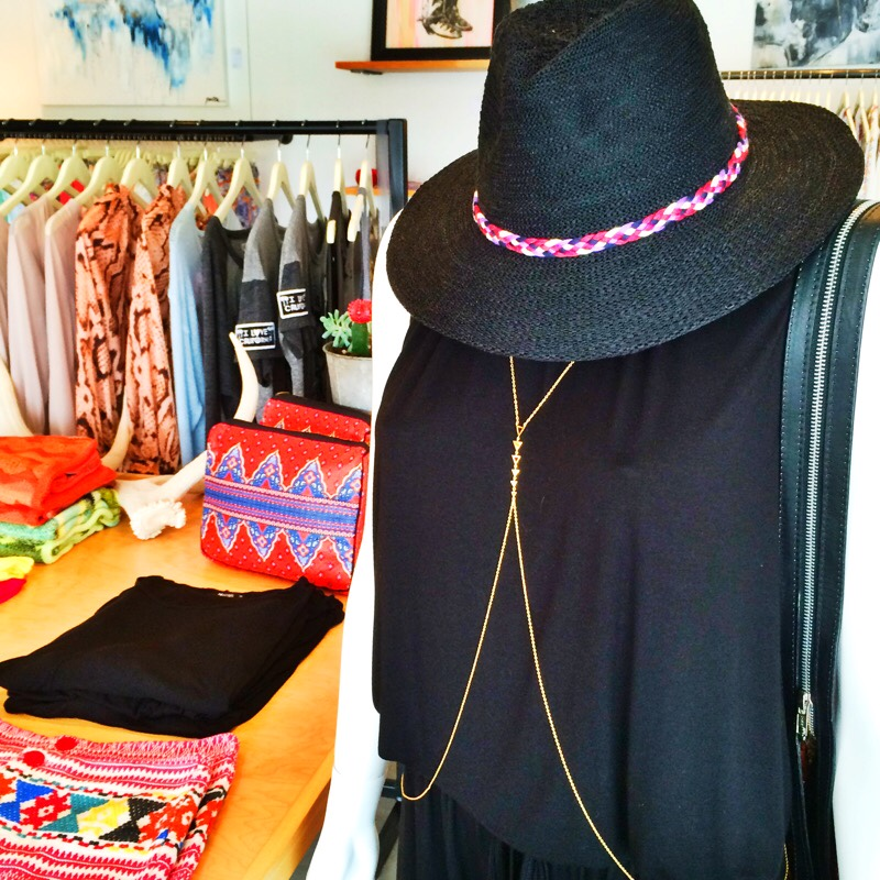 Raquel Greer Gordian shows a selection of accessories from Southern Hippie.