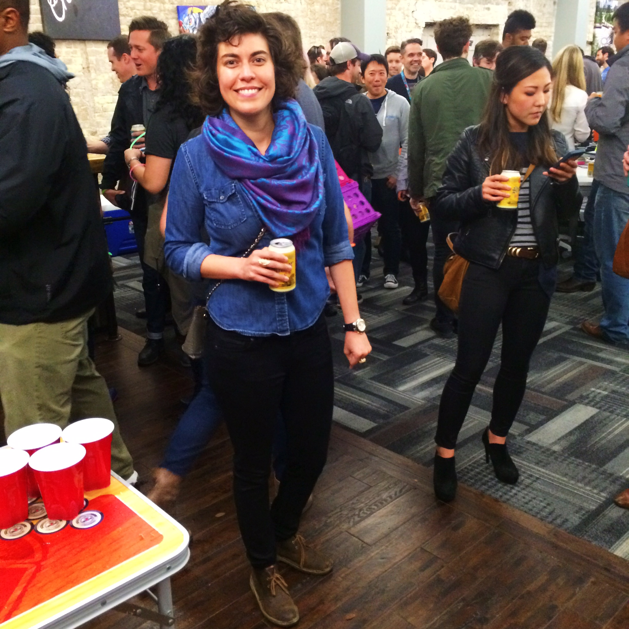 Raquel Greer Gordian captures an image of a woman's SXSW style.