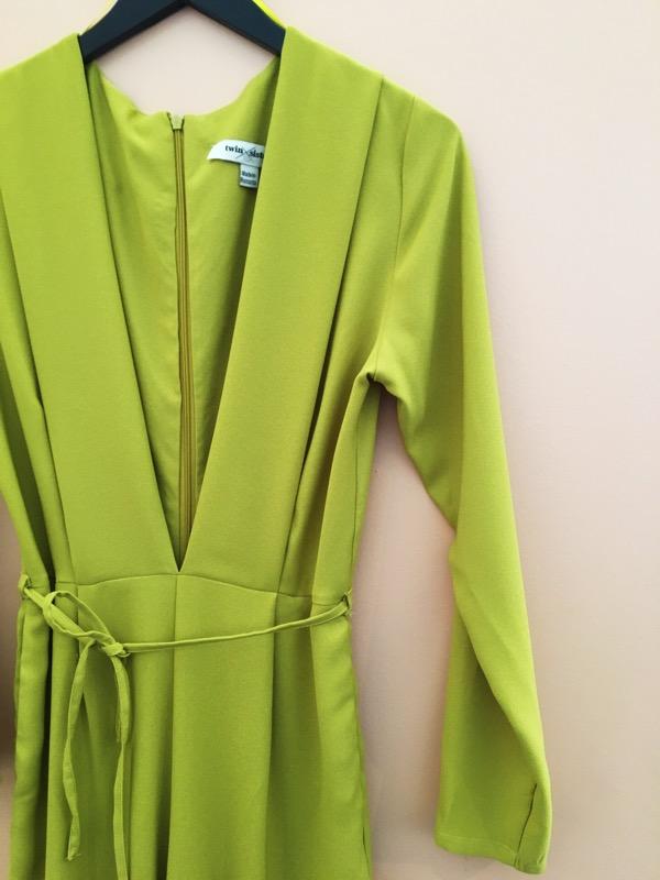 Chartreuse Jumpsuit