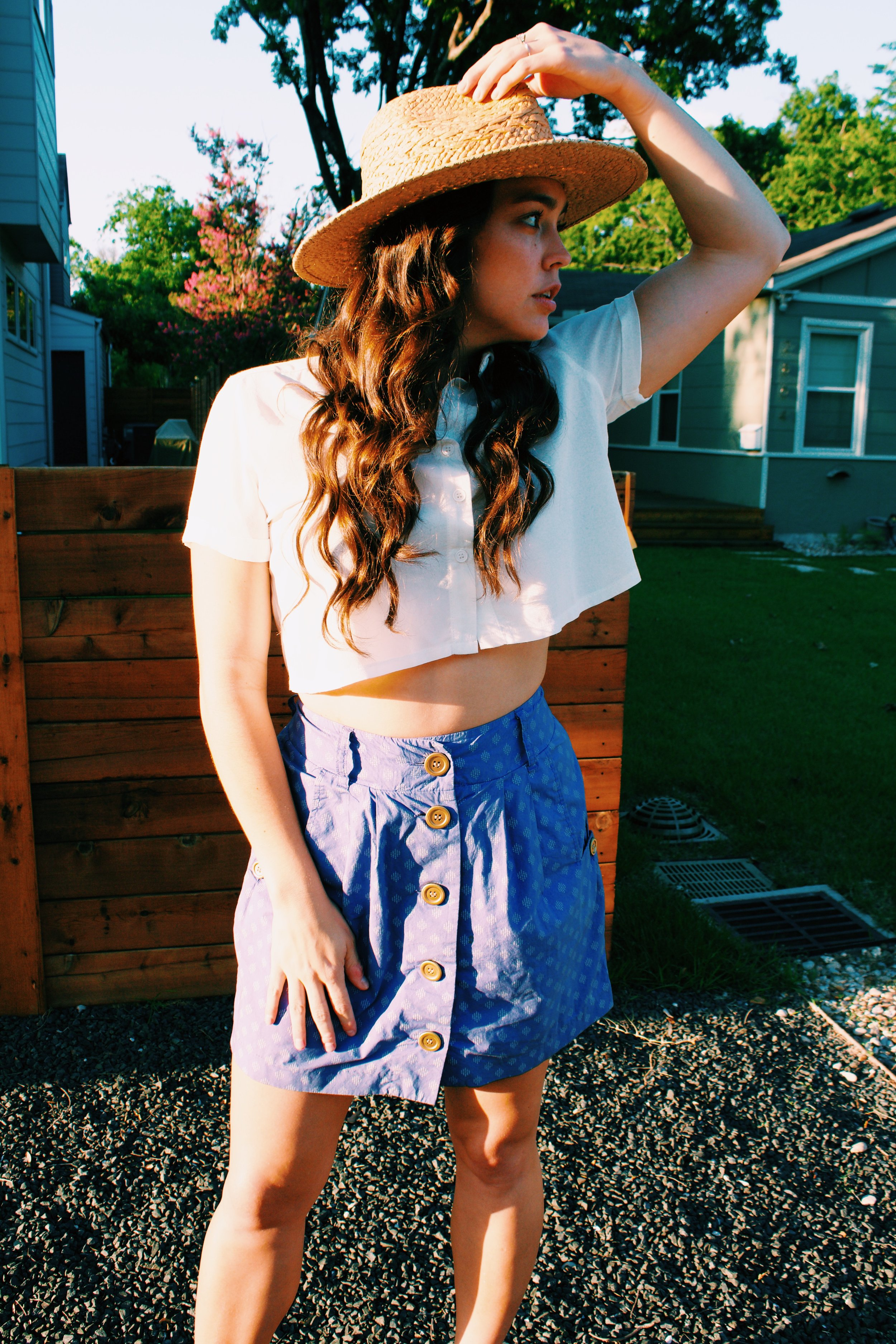 Greer Image - Blog - 10 Ways to Love your Late Summer Style - Straw Hat - Style - Austin Style - Fashion - Summer Fashion