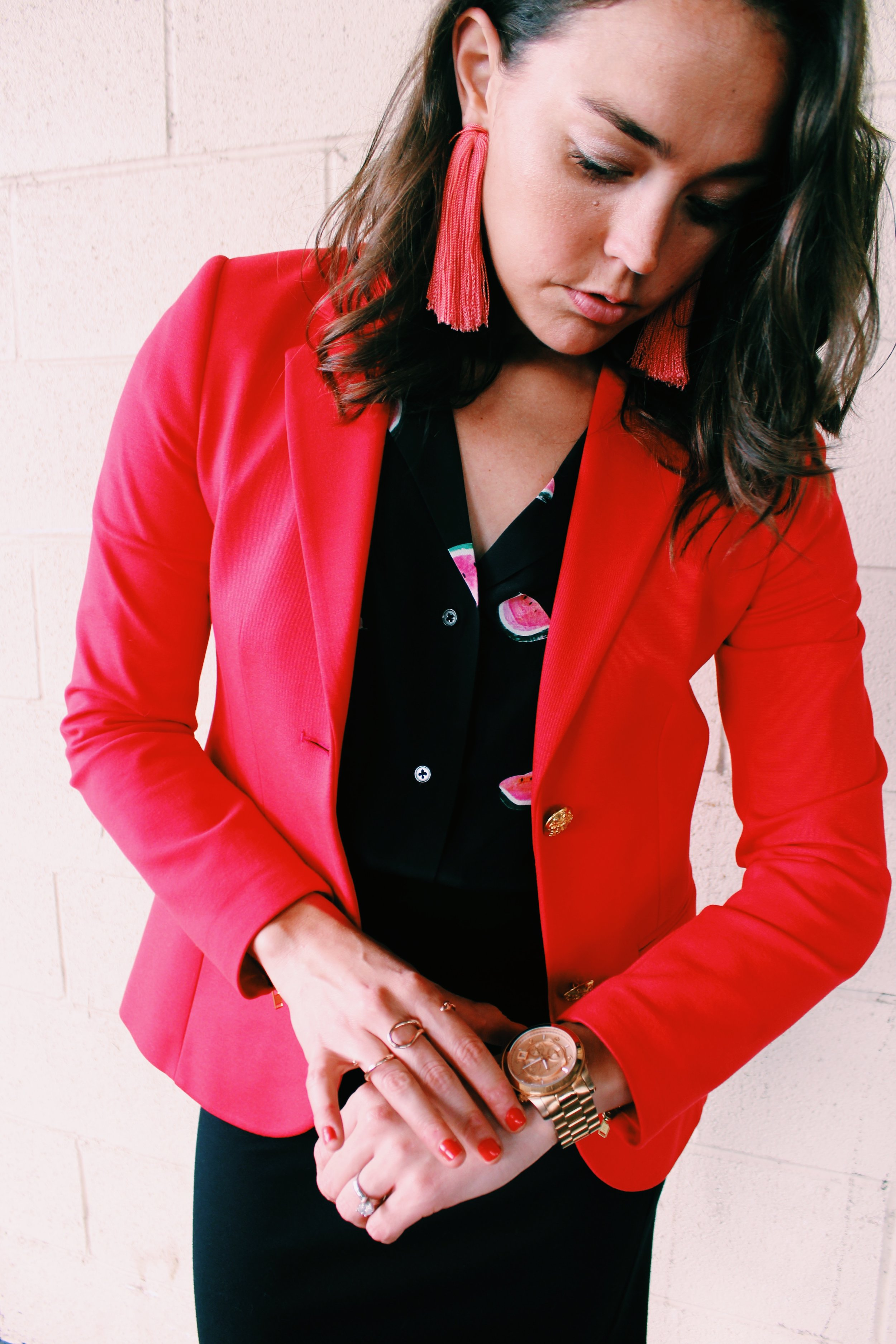 Greer Image Consulting - Blog - How To Wear A Blazer During Texas Summer 2018