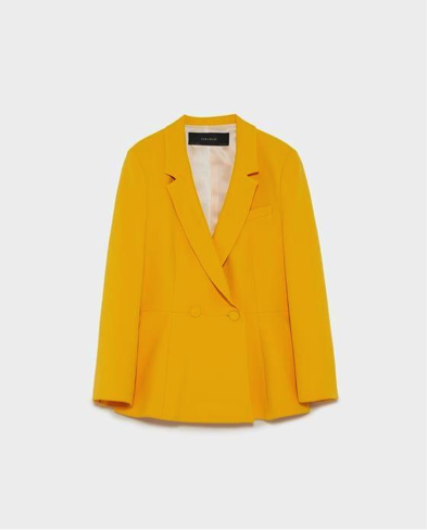 POWER BLAZER - COURTESY OF ZARA