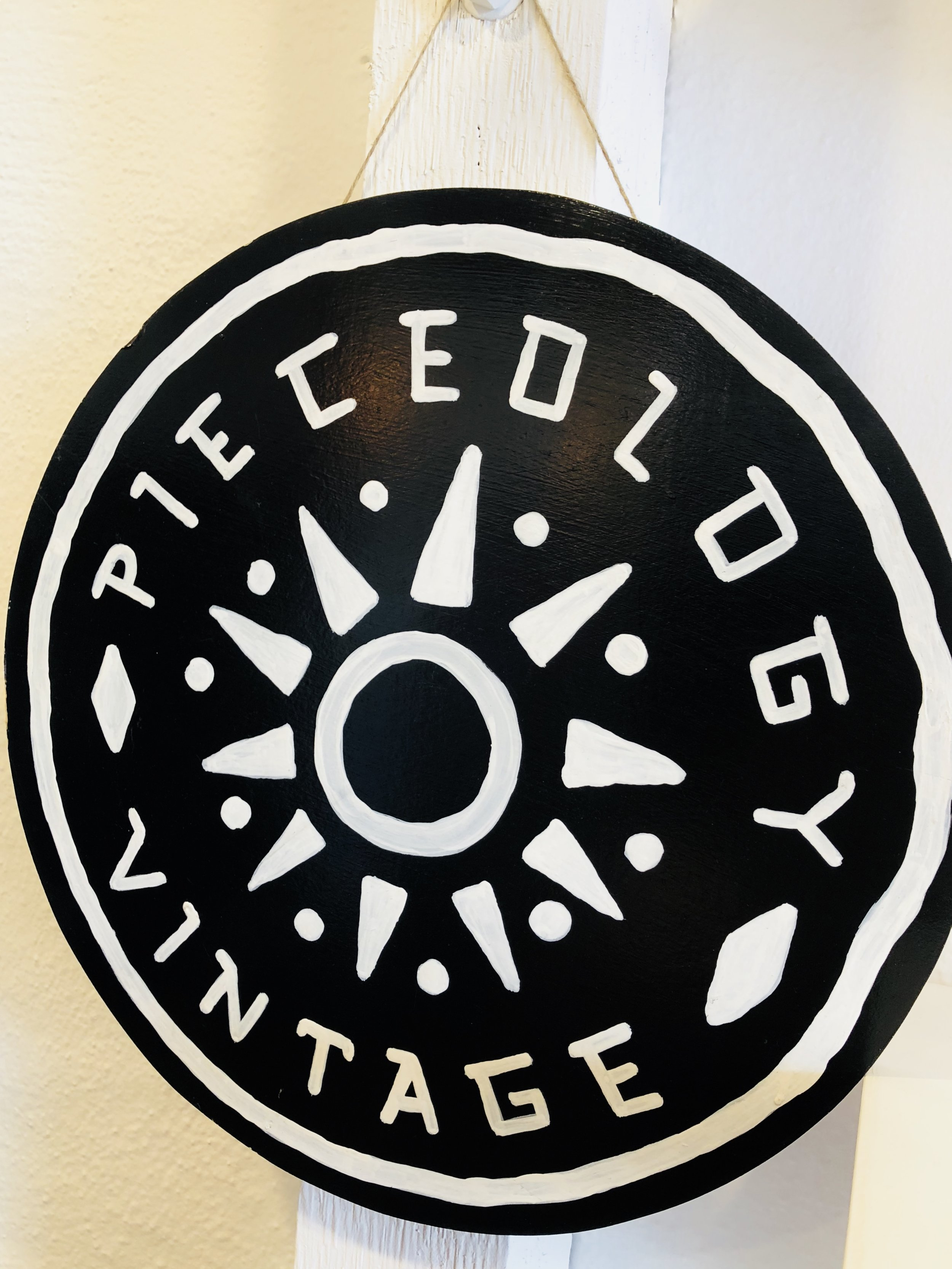 Pieceology is a vintage shop located in Austin, Texas.