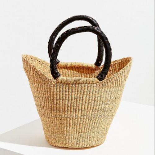 urban renewal remade small straw handbag from UrbanOutfitters.com