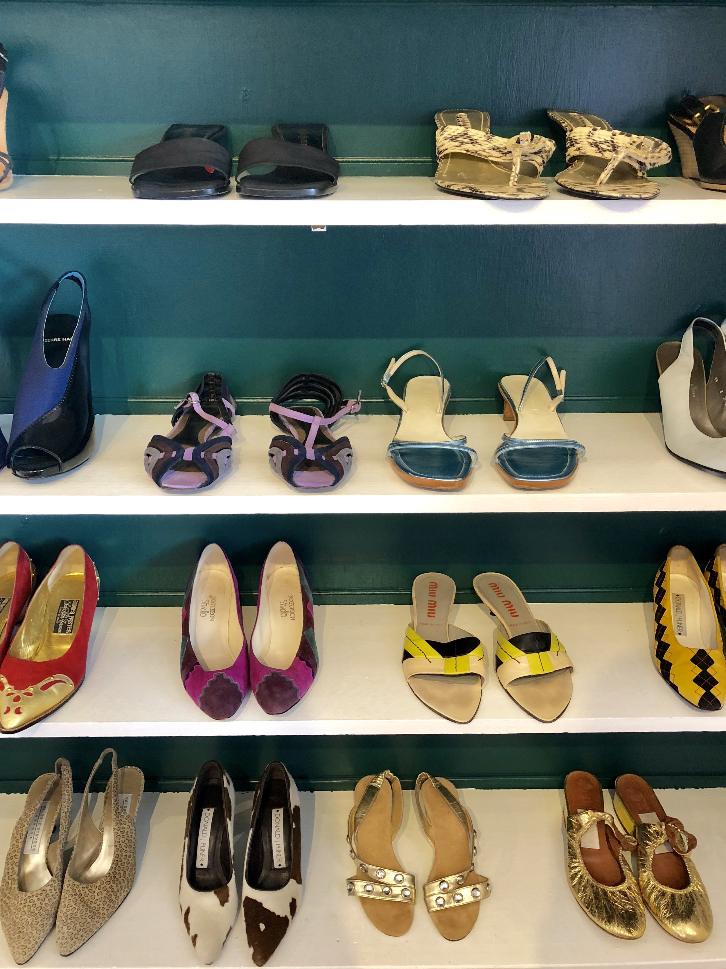 These are just some of the beautiful shoes you can find at Austin, Texas shoe shop, The Art of Shoes.