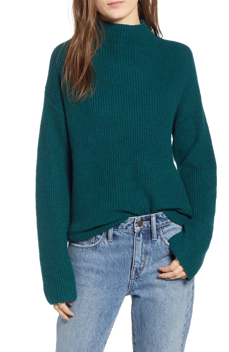 The turtleneck sweater is the perfect addition to any wardrobe for fall 2018.