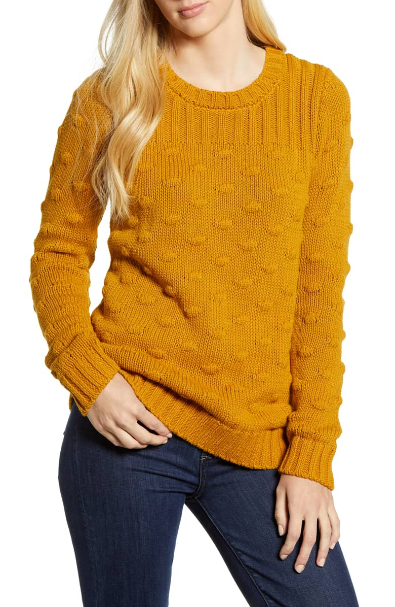 The cozy pullover sweater is the perfect addition to any wardrobe for fall 2018.