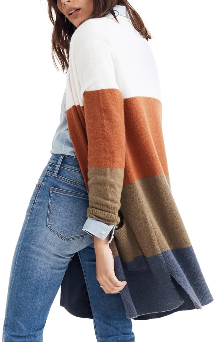 The long cardigan is the perfect addition to any wardrobe for fall 2018.
