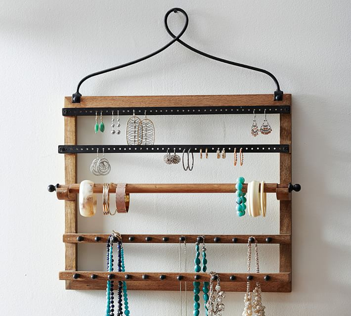 Greer Image Consulting - How to Organizer Your Jewelry - Wall, Bracelet, Earring, and Necklace Organizer