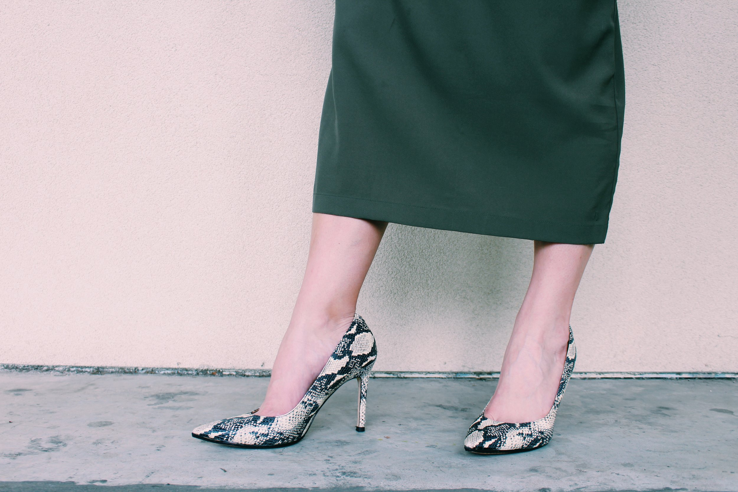 Want to add power to your Austin office look? Try a pointed-toe pump with everything from jeans to suits to create a look that commands respect and attention.