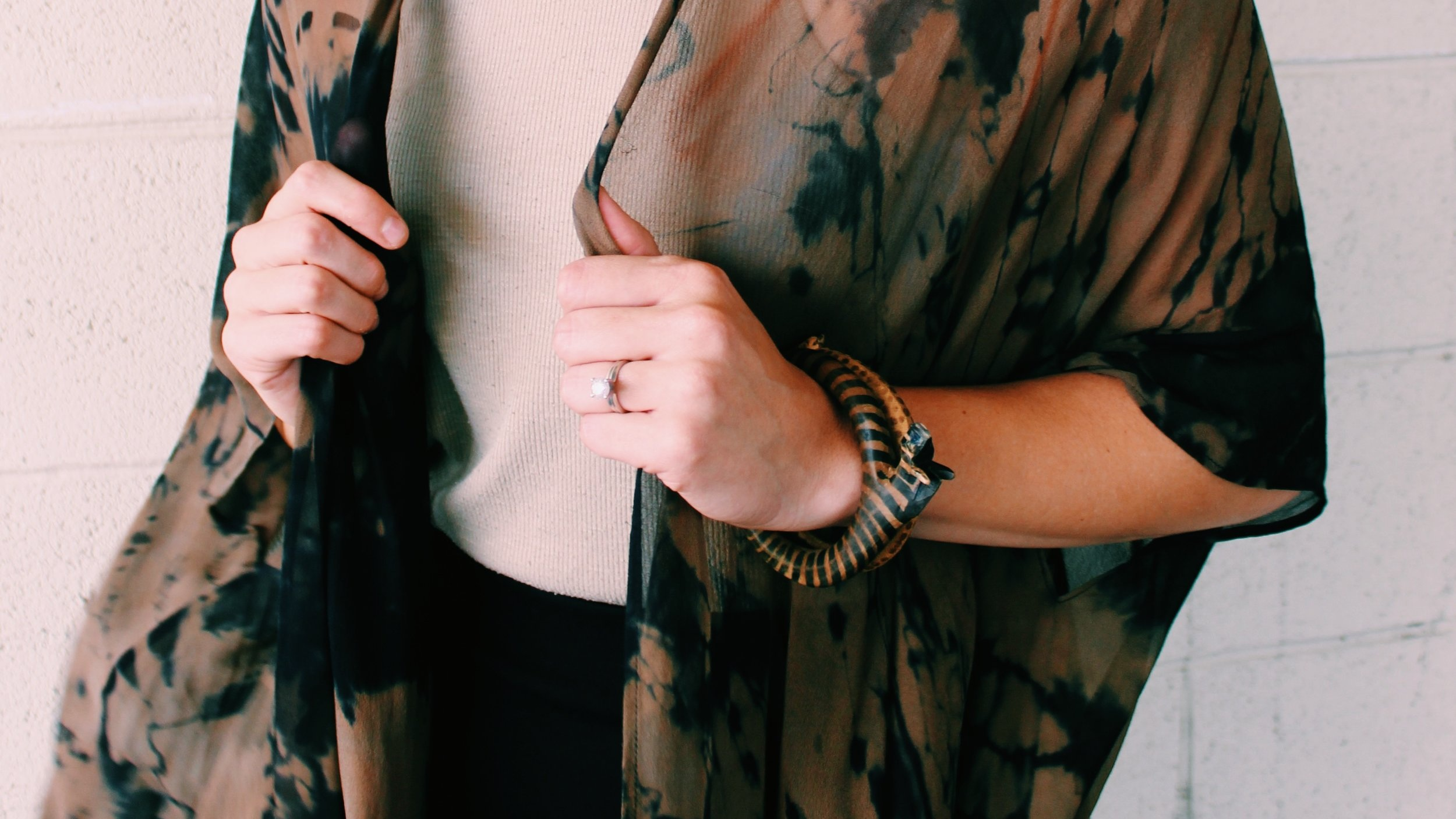 Kimonos are the perfect layer when weather's unpredictable.