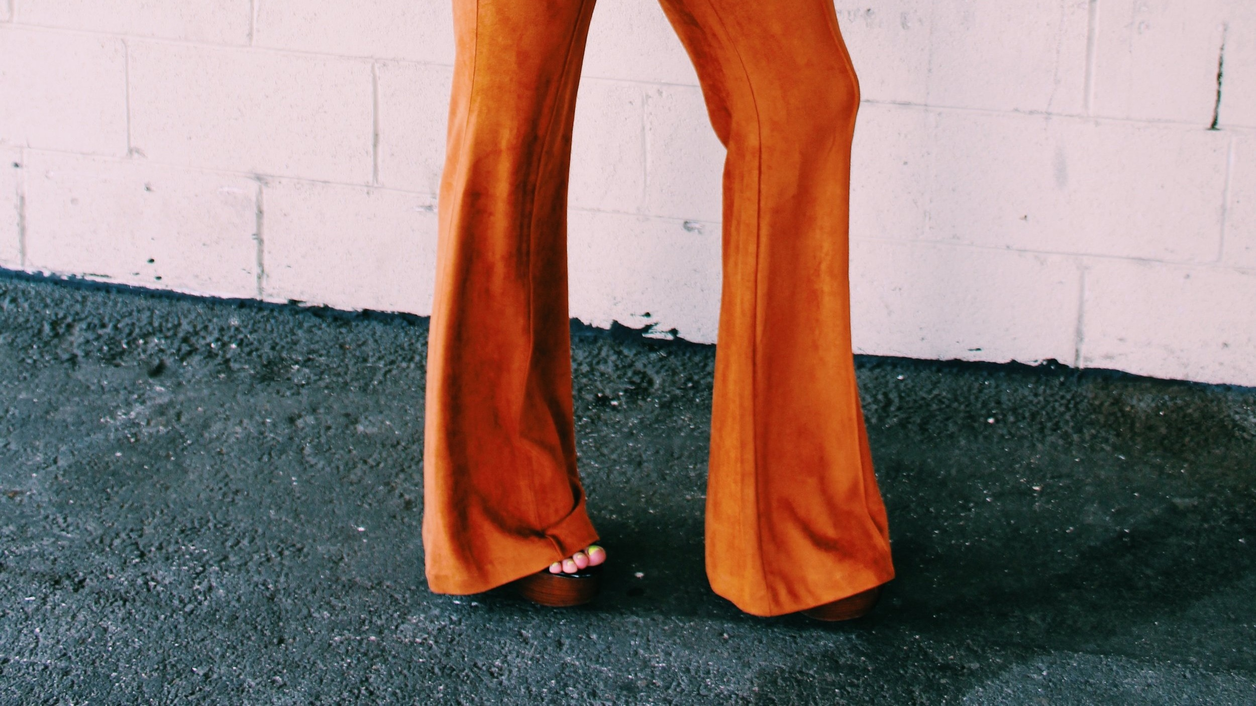 Retro vibes are always in style. Incorporate your favorite decade through a flare pant or jean.
