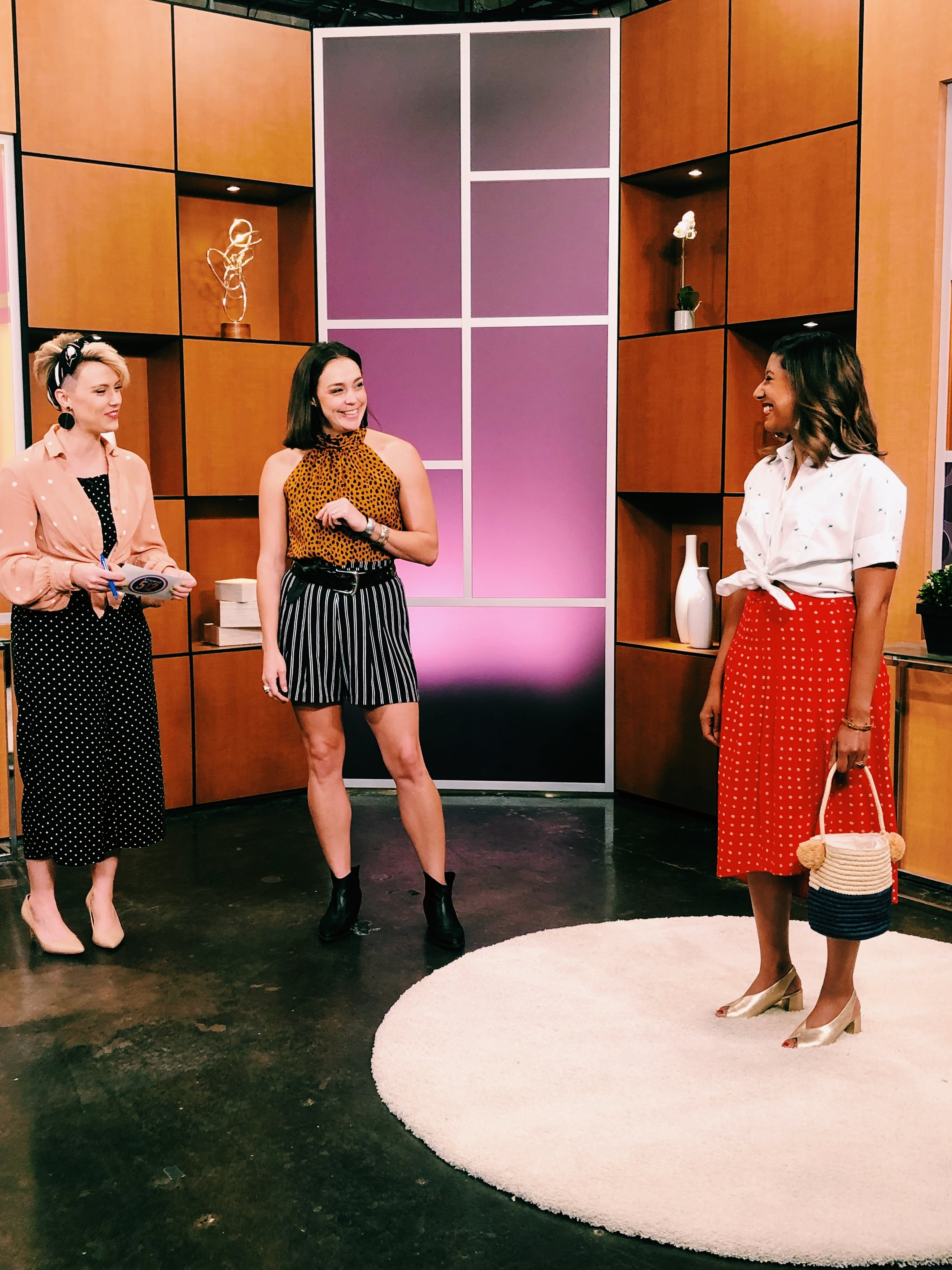 Austin's top personal stylist, Raquel Greer Gordian, visits Studio 512 to chat about how to mix prints and bold patterns to create outfits you'll love to wear this summer.