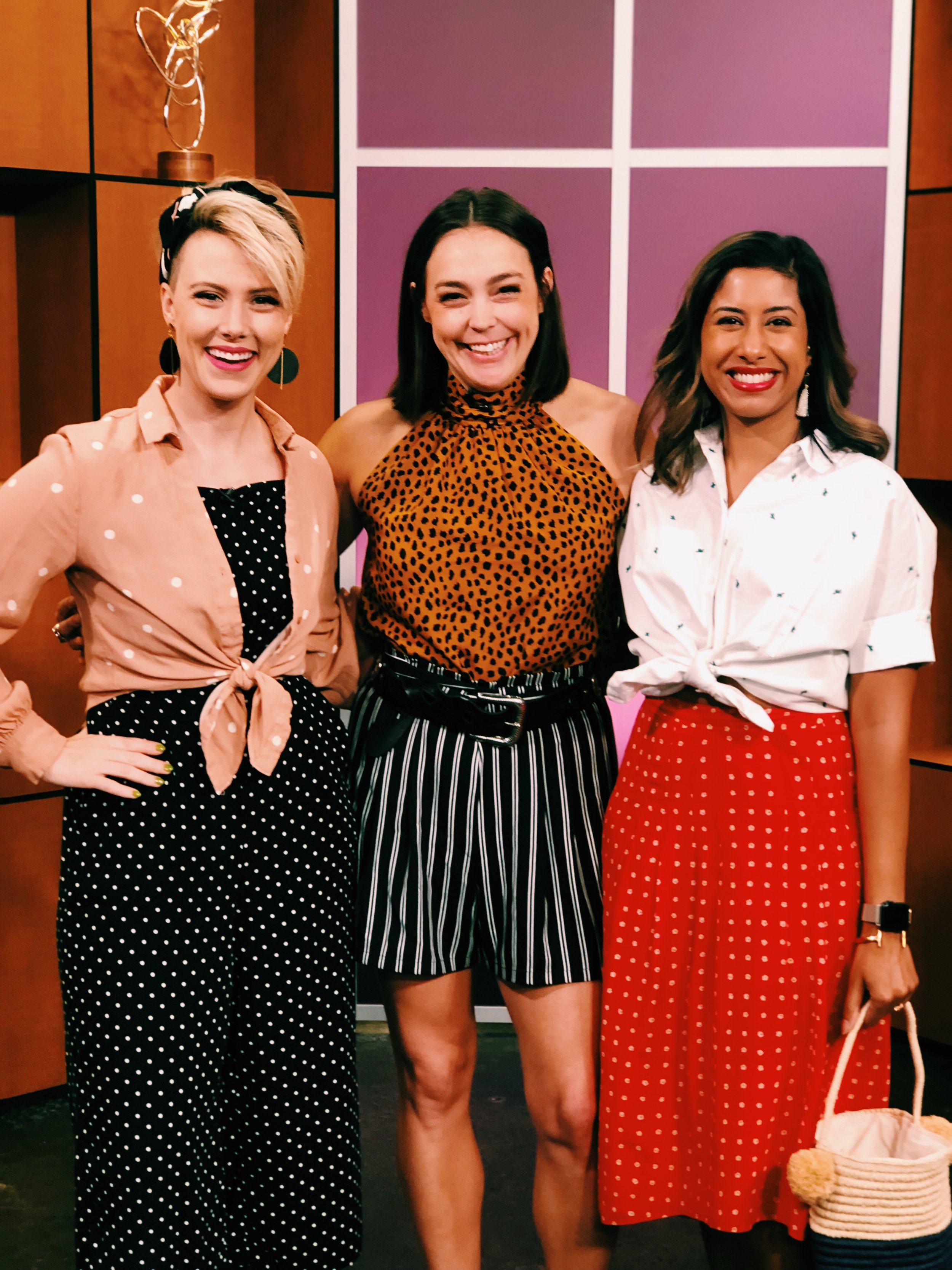 Austin's best personal stylist, Raquel Greer Gordian, stops by Studio 512 to share three easy ways to mix prints and match patterns in your office and weekend outfits.