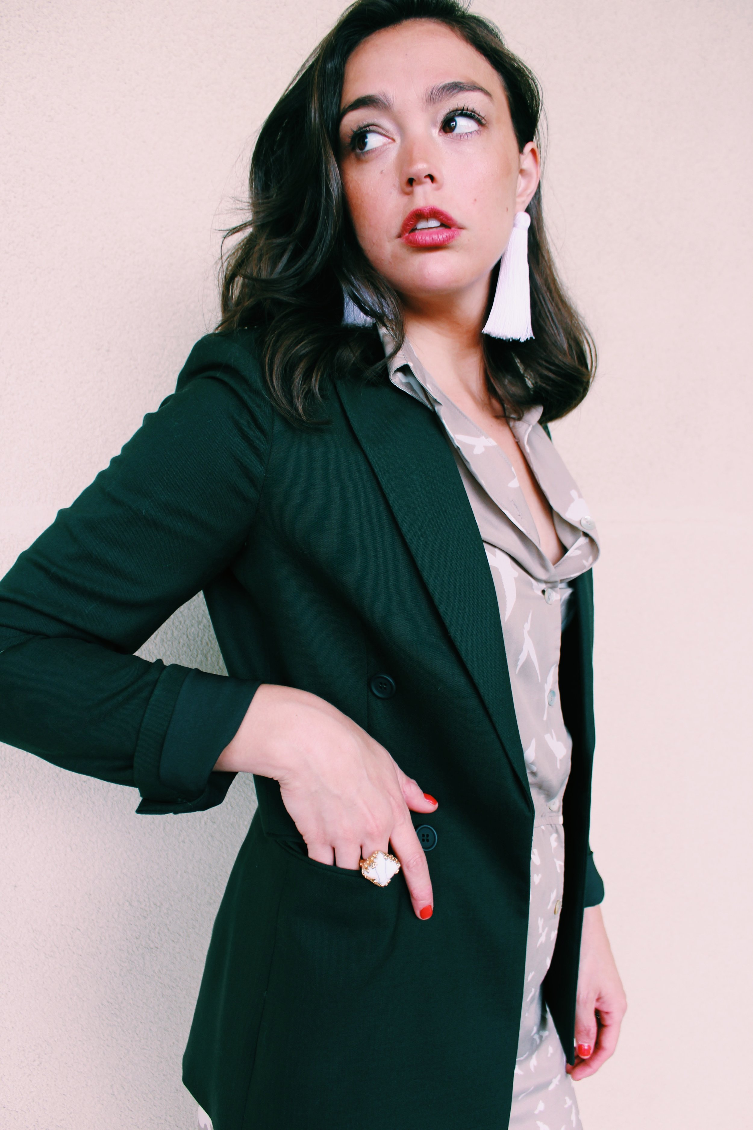 Raquel Greer Gordian shares four easy ways to pair your classic blazer with what's in your closet.