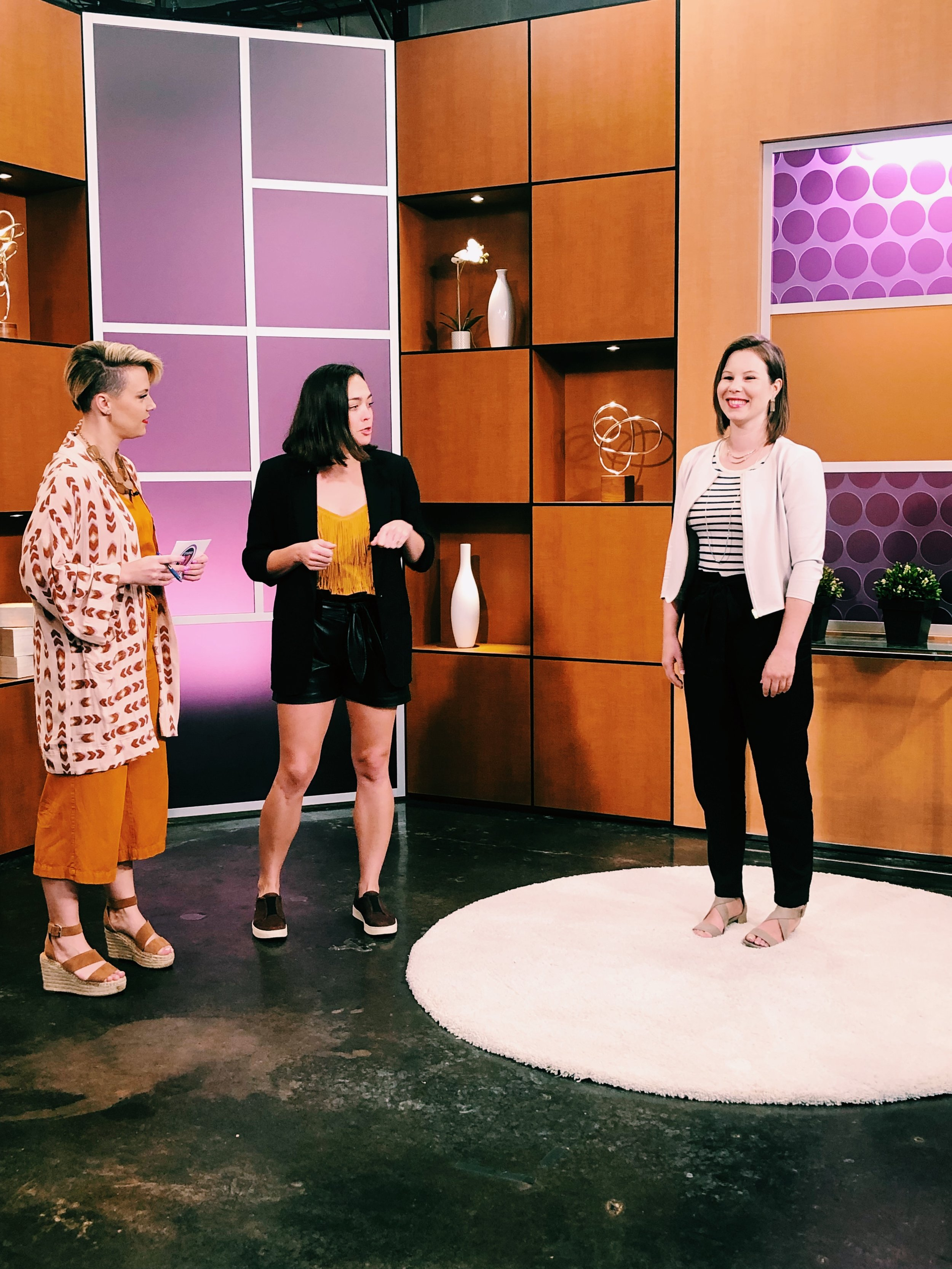 Raquel teaches busy moms how to step out of their athleisure and into outfits they love for the school year.
