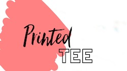 Raquel shares how to style a printed tee for fall 2019.