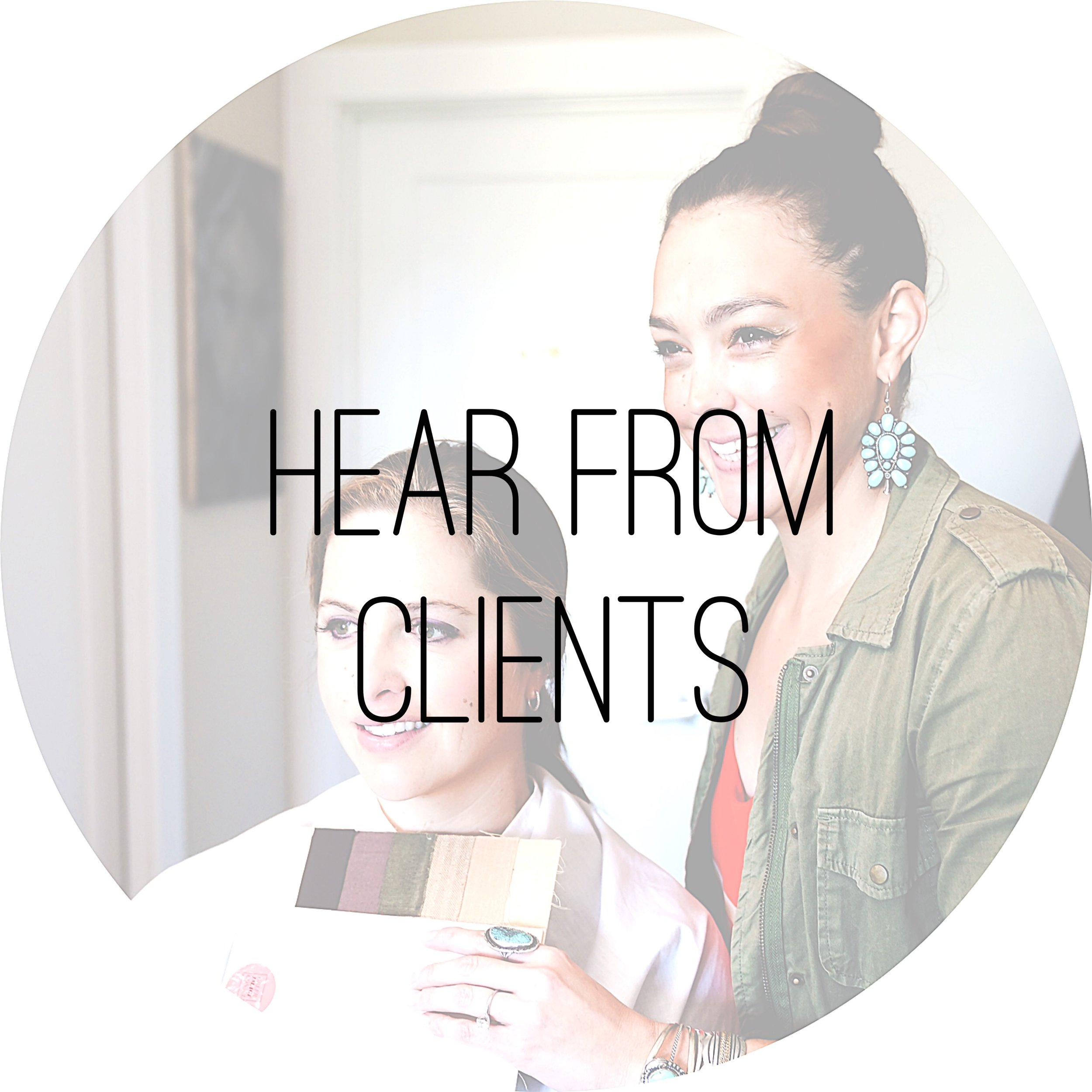 Raquel Greer Gordian's clients talk about the amazing experience of having Raquel style and shop with them.