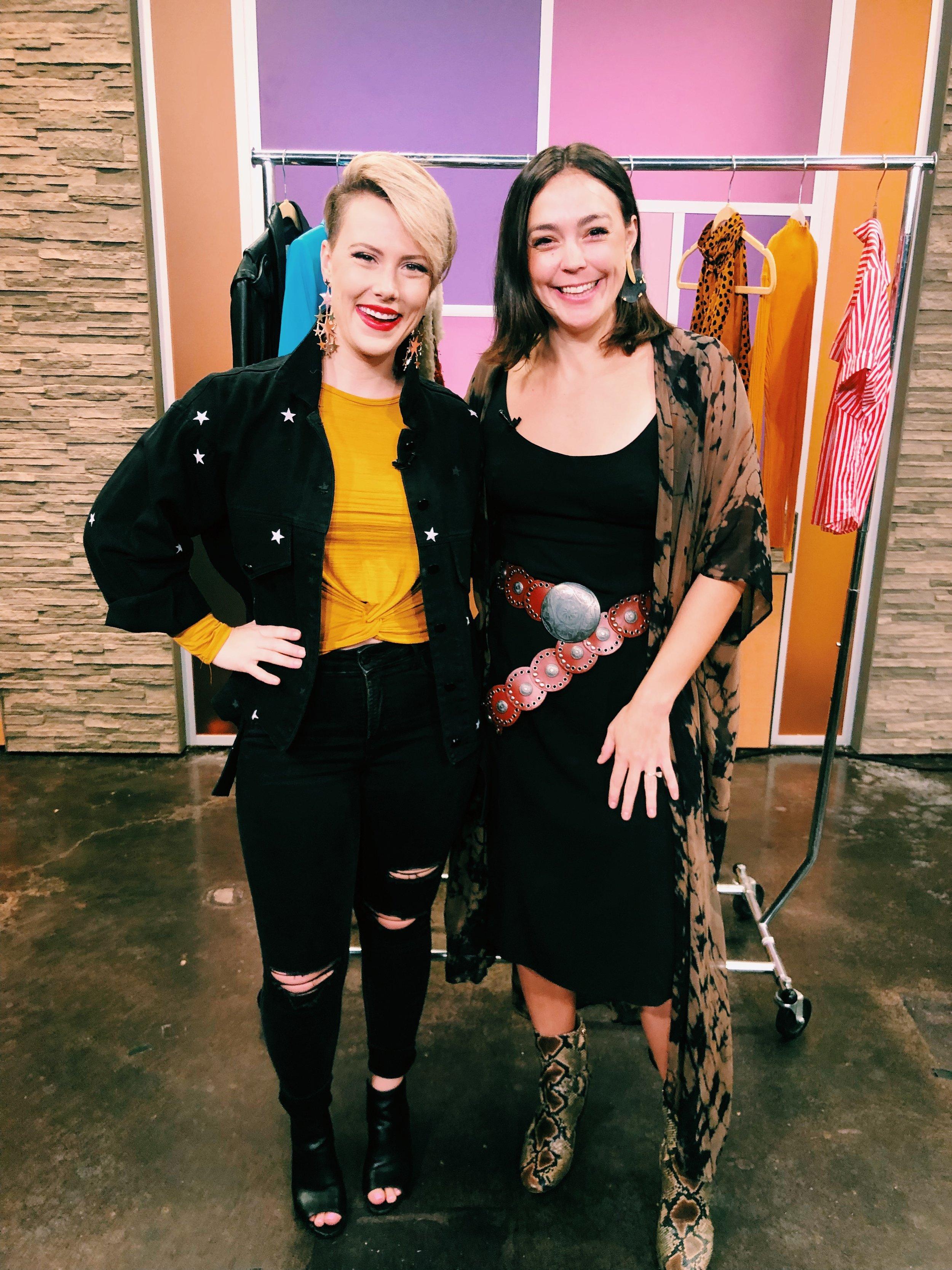 Raquel Greer Gordian visits Studio 512 to talk about closet organization.